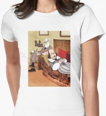 Freud analysing Shakespeare Women's Fitted T-Shirt