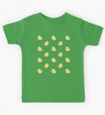 Busy Chicks - Aqua Kids Tee