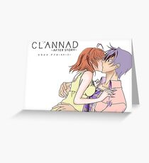clannad custom Greeting Card
