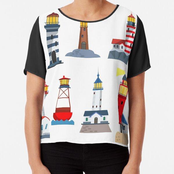 Lighthouse Chiffon Top
