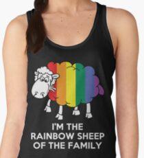 I'm The Rainbow Sheep Of The Family Women's Tank Top