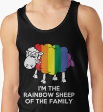 I'm The Rainbow Sheep Of The Family Tank Top