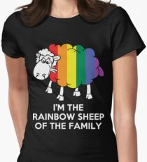 I'm The Rainbow Sheep Of The Family Women's Fitted T-Shirt