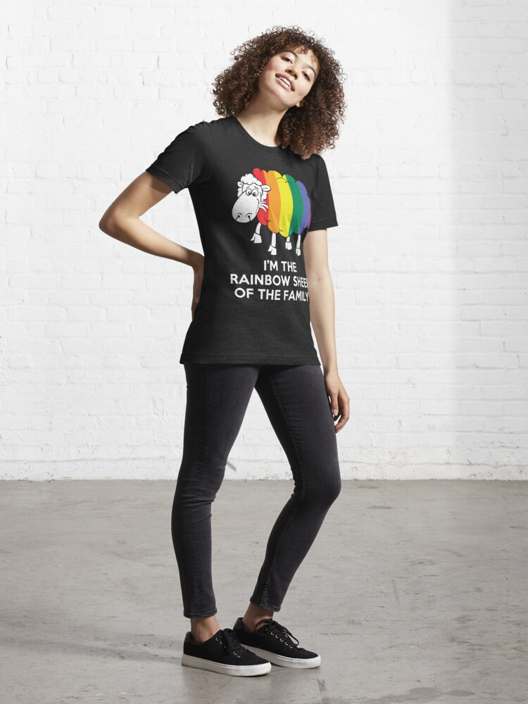 Alternate view of I'm The Rainbow Sheep Of The Family T-Shirt Essential T-Shirt