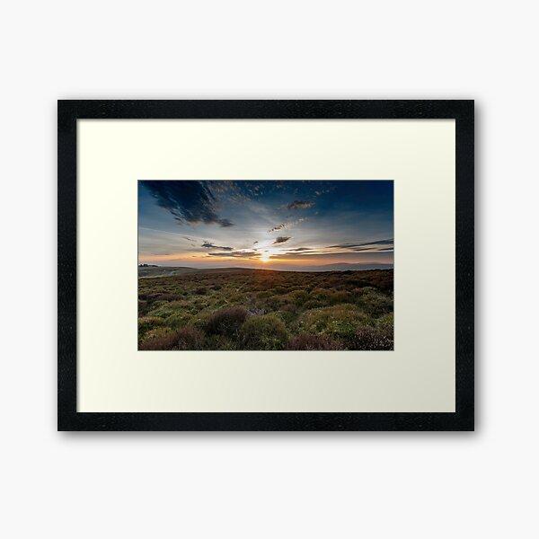 Mynd Sunset II Framed Art Print