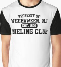 Property of Weehawken NJ Dueling Club Graphic T-Shirt
