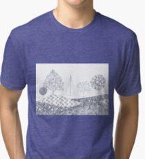 Tree Scene Tri-blend T-Shirt
