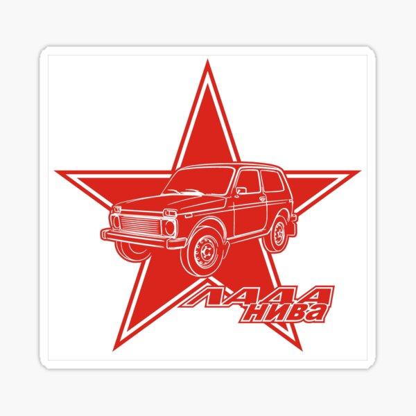 LADA NIVA - Made in Russia Sticker