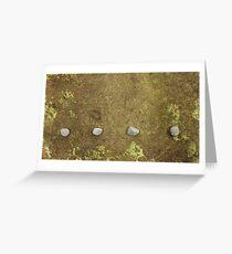 Raindrops 1 Greeting Card