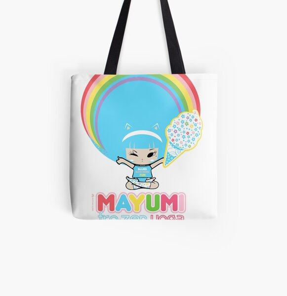 Frozen Yoga All Over Print Tote Bag