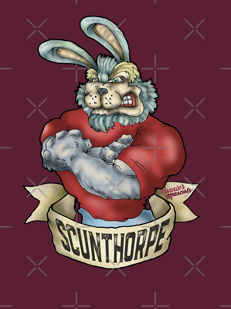 Scunthorpe United Bunny Mascot by RonniesMascots