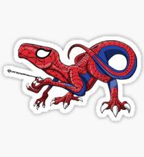 Pegatina ¡The Amazing Spideraptor!