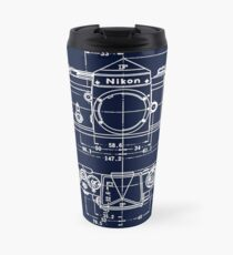 Vintage Photography: Nikon Blueprint Travel Mug