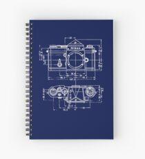 Vintage Photography: Nikon Blueprint Spiral Notebook