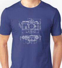 Vintage Fotografie: Nikon Blueprint Slim Fit T-Shirt