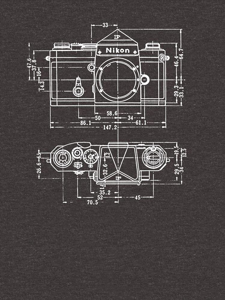 Vintage Fotografie: Nikon Blueprint von brainsontoast