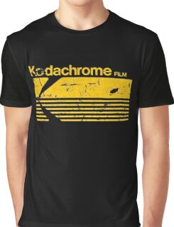 Vintage Photography: Kodak Kodachrome - Yellow Graphic T-Shirt