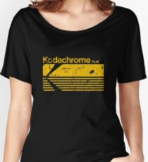 Vintage Photography: Kodak Kodachrome - Yellow Loose Fit T-Shirt