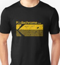 Vintage Photography: Kodak Kodachrome - Yellow Slim Fit T-Shirt