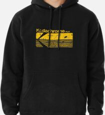 Vintage Photography: Kodak Kodachrome - Yellow Pullover Hoodie