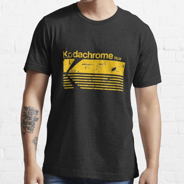 Vintage Photography: Kodak Kodachrome - Yellow Essential T-Shirt
