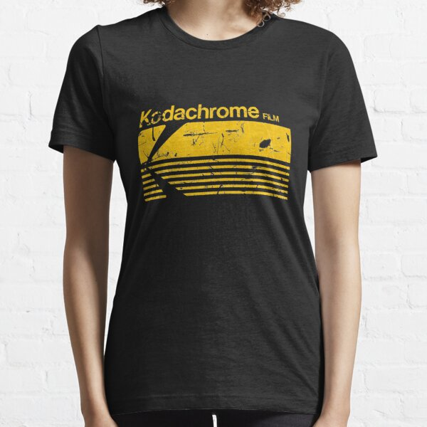 Vintage Photography: Kodak Kodachrome - Yellow Essential T-Shirt