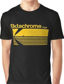 Vintage Photography: Kodak Ektachrome - Yellow Graphic T-Shirt