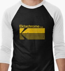 Vintage Photography: Kodak Ektachrome - Yellow Men's Baseball ¾ T-Shirt