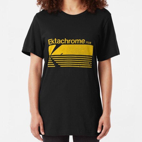 Vintage Photography: Kodak Ektachrome - Yellow Slim Fit T-Shirt