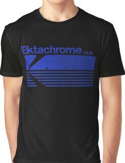 Vintage Photography: Kodak Ektachrome - Blue Graphic T-Shirt