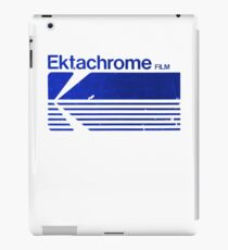 Vintage Photography: Kodak Ektachrome - Blue iPad Case/Skin