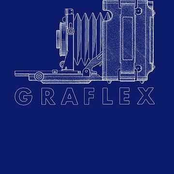Vintage Photography - Graflex Blueprint (Version 2) by brainsontoast