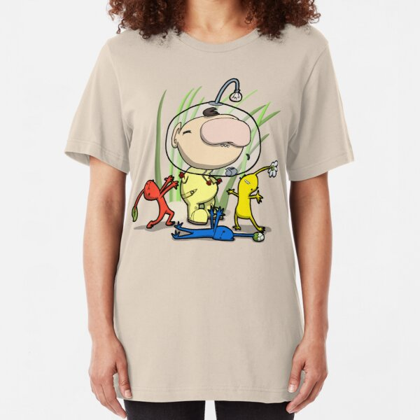Meeting Intelligent Life Form Slim Fit T-Shirt