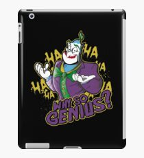 Why So Genius? iPad Case/Skin