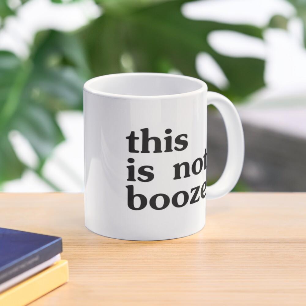 This is NOT booze - conference call mug Mug