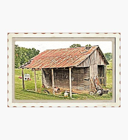 """""""Junior's Clubhouse """"... prints and products Photographic Print"""