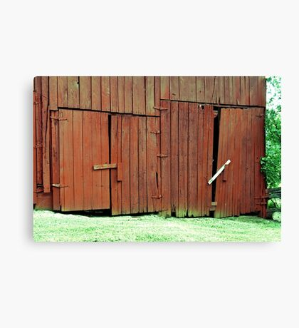 """""""BUBBA'S ADDITIONAL PROPERTY PROTECTION with BUBBA SECURITY SYSTEMS""""... prints and products Canvas Print"""