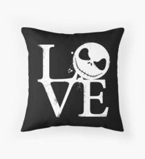 Nightmare Love Throw Pillow