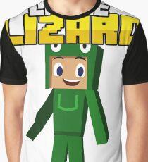 Little Lizard Gaming - Minecraft Youtuber Graphic T-Shirt