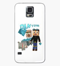 DanTDM The Diamond Minecart - Minecraft Youtuber Case/Skin for Samsung Galaxy