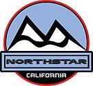 NORTHSTAR CALIFORNIA Mountain Skiing Art by MyHandmadeSigns