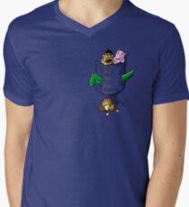 Pocket Story Men's V-Neck T-Shirt