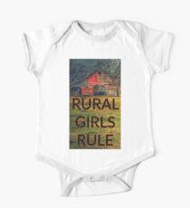 Rural Girls Rule One Piece - Short Sleeve