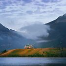 Sunrise over Waterton Lakes National Park and The Prince of Wales Hotel .3 by Alex Preiss
