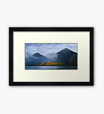 Sunrise over Waterton Lakes National Park and The Prince of Wales Hotel .3 Framed Print