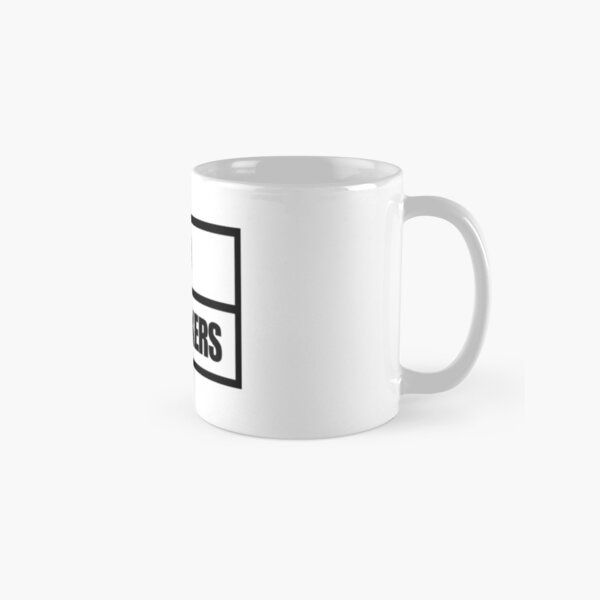 Tattoo Fixers style white and black design Classic Mug