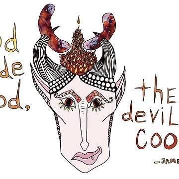 The Devil Cooks by koriwaring