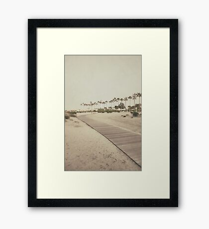 Shoreline Trail Framed Print