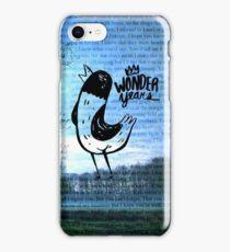 The Wonder Years Lyrics iPhone Case/Skin
