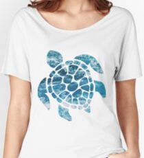 Ocean Sea Turtle Women's Relaxed Fit T-Shirt